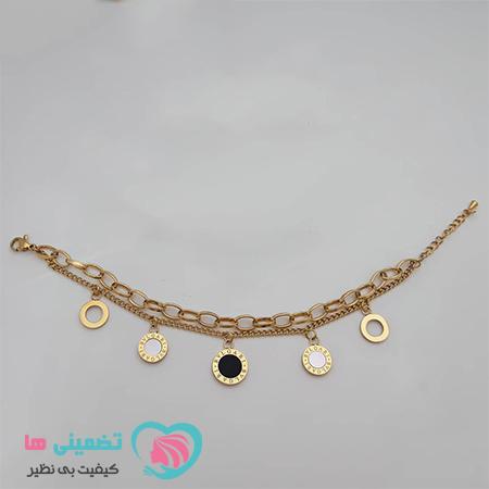 دستبند بولگاری طلایی