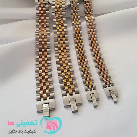 دستبند رولکس استیل اورجینال
